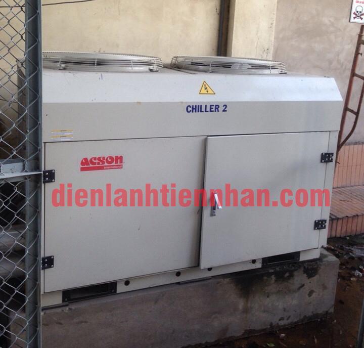 máy lạnh cũ chiller 2