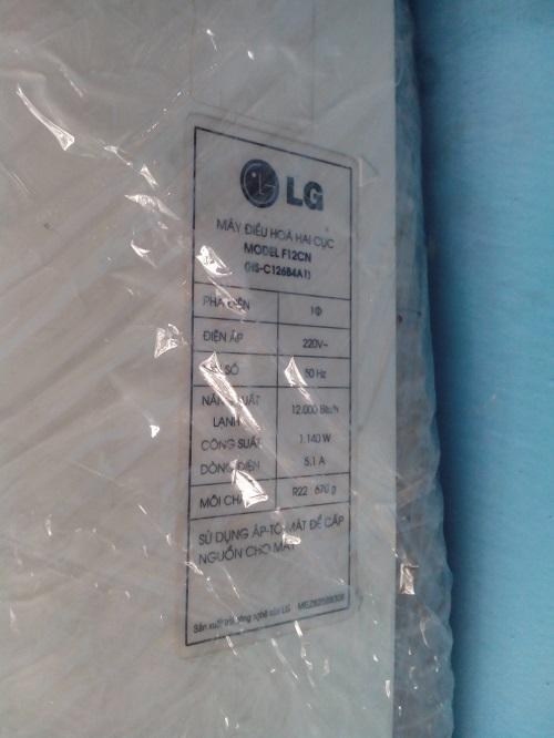 máy lạnh cũ LG F12CN