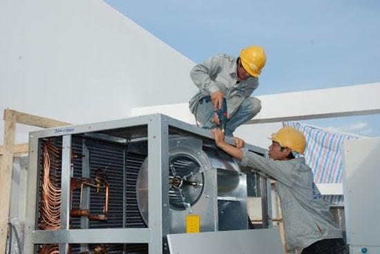 Sửa chữa các thiết bị công nghiệp điện lạnh