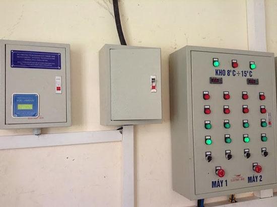 Thiết bị điều khiển, bộ giám sát kho lạnh đông lạnh công nghiệp