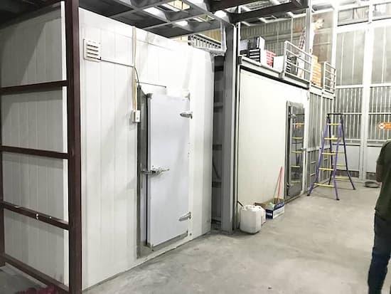Cần đảm bảo an toàn trong quá trình lắp đặt kho lạnh